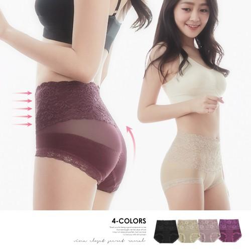 VC維娜私物|小一吋塑褲復古蕾絲-097913