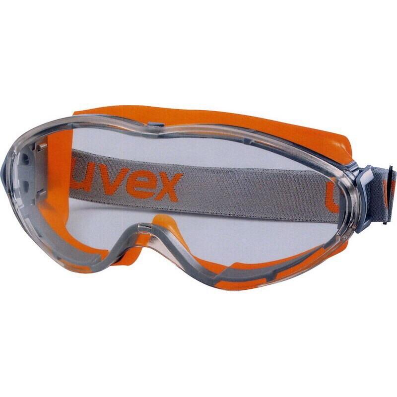 德國uvex - 9302 安全防護 護目鏡 抗化學 防霧 防塵護目鏡組 防霧 抗刮 耐化學
