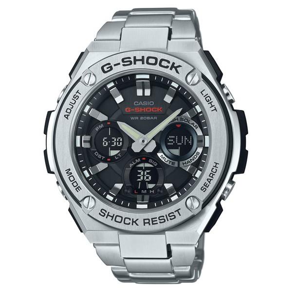 CASIO GST-S110D-1A   G-STEEL   G-SHOCK  麗寶錶樂園