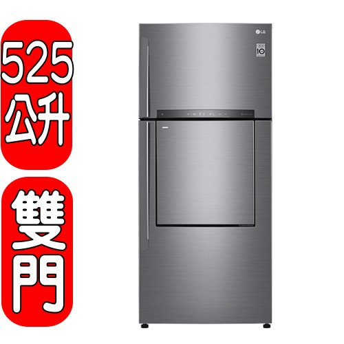 《可議價》LG樂金【GN-DL567SV】525公升雙門門中門變頻冰箱