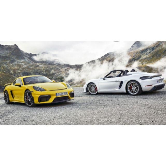 挖保 空力套件 Porsche Boxster Cayman GT4 GT3 Techart 718改GT4