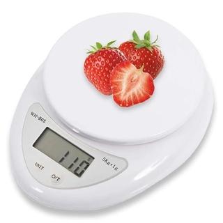5kg /  1kg 便攜式數字秤 /  食品健康飲食廚房 Led 電子秤測量 /  數字廚房秤,  帶 5kg /  1g 1k