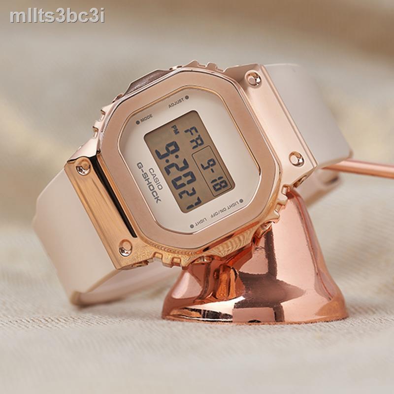 ▲卡西歐G-SHOCK GM-S5600PG-4/G-7/5600-1/B-1/3 電子運動男腕手表