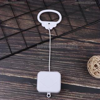 Newsmallbrains 拉線繩音樂盒白色嬰兒搖鈴床鈴搖鈴玩具禮物 Nsb