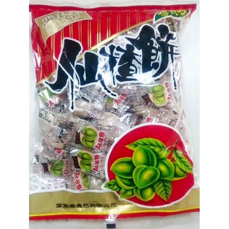 古早味梅餅 傳統口味 棠素香 仙楂餅 600公克 仙楂餅  梅餅 仙渣餅 酸梅 山楂