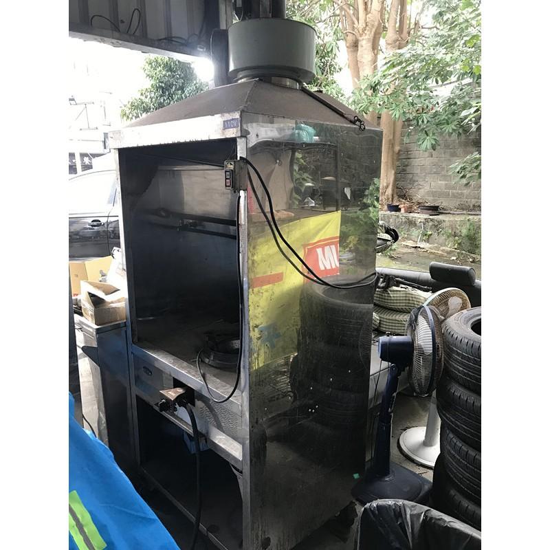 一口炒台含抽罩-直板 單口爐瓦斯爐/炒菜爐
