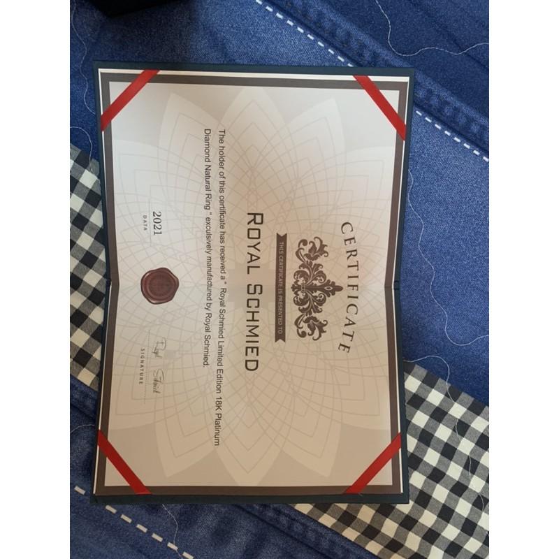 [Royal Schmied] 皇家鍛造一生唯一紳士男戒-classic
