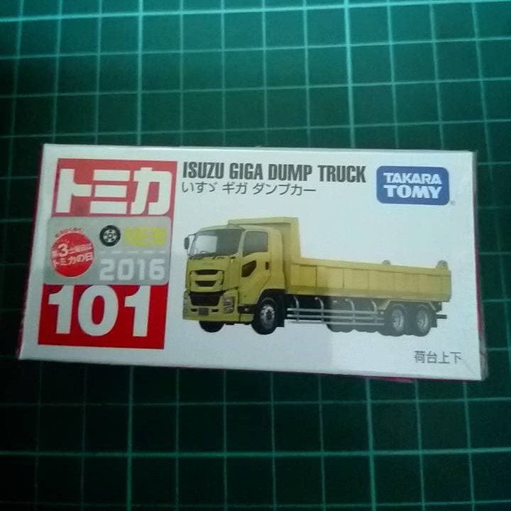 Tomica No.101 傾倒卡車 新車貼