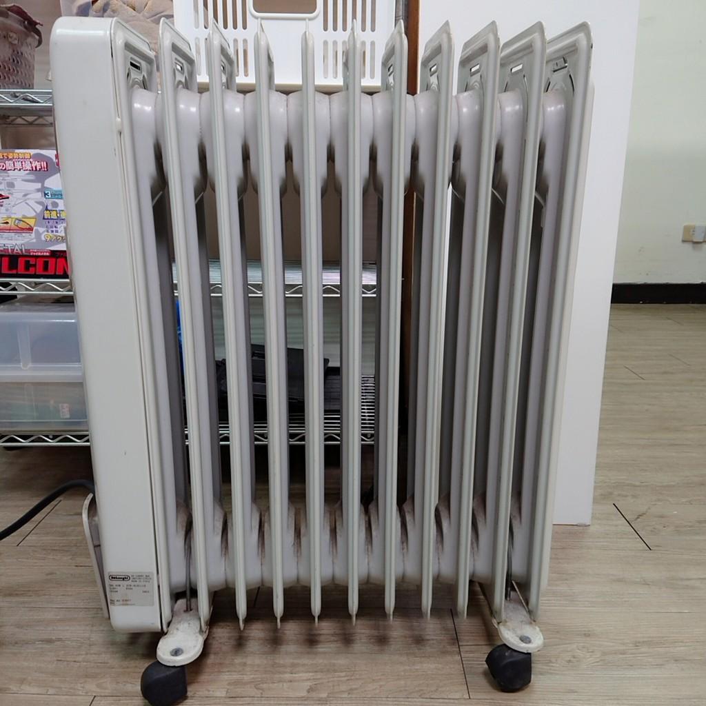 限自取 DeLonghi(義大利迪朗奇) 11片式葉片電暖器 /H191115 【日式二手店 大和堂】