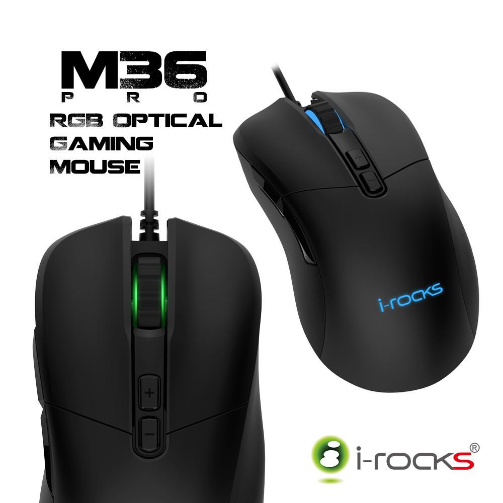 irocks M36 PRO光磁微動遊戲滑鼠 宅配免運 廠商直送