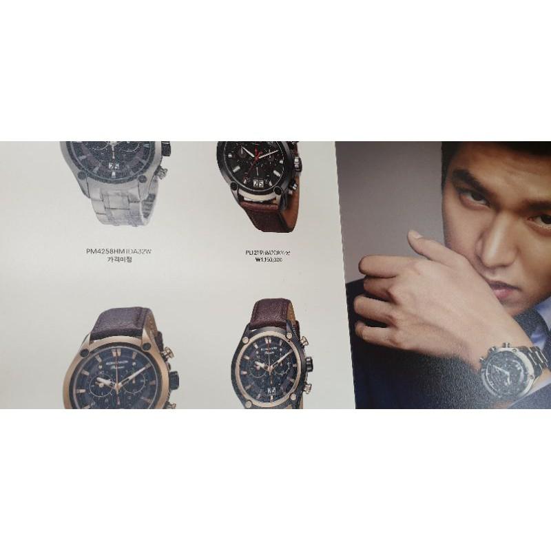 收藏 韓國明星LEE MIN HO【李敏鎬】代言手錶ROMANSON