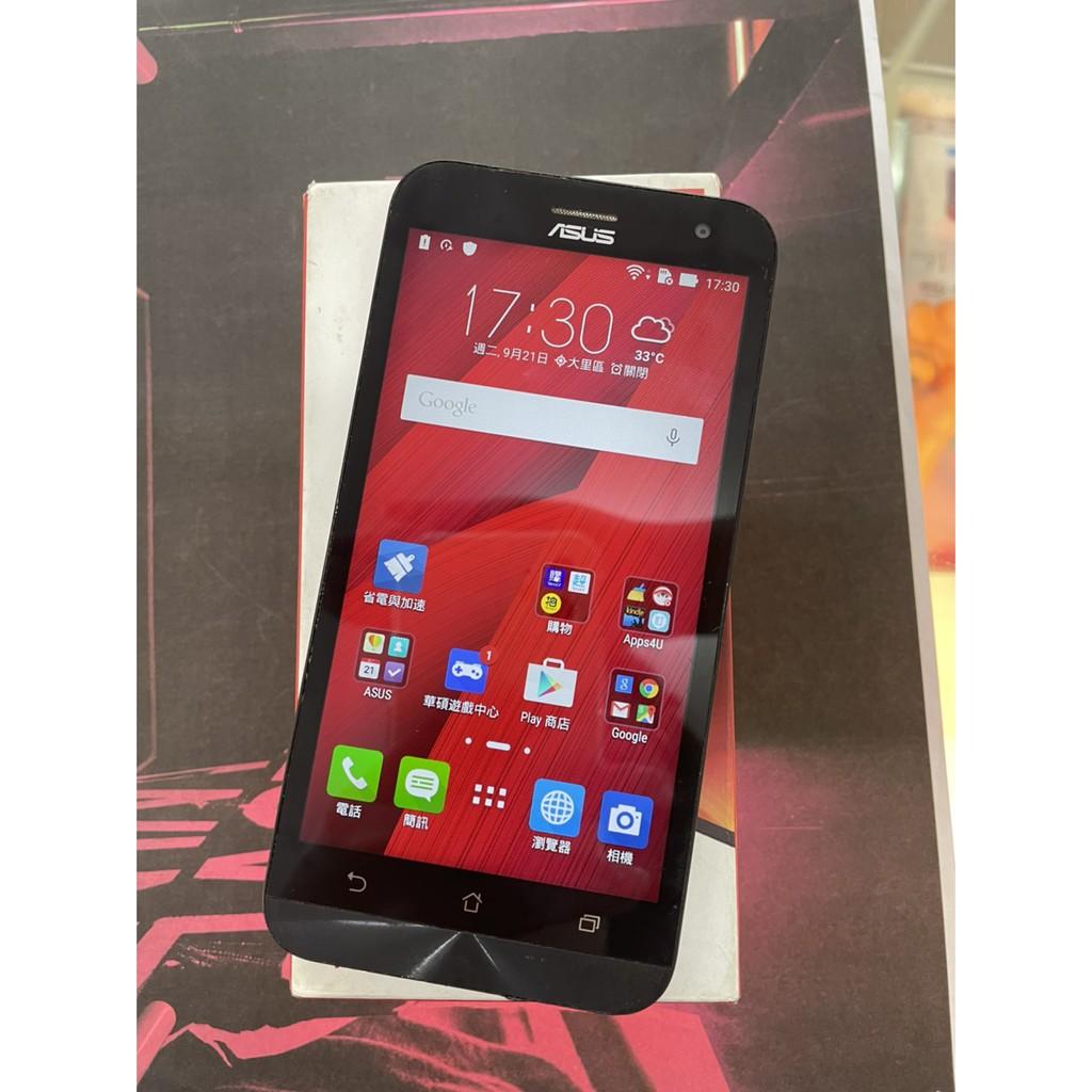ASUS ZenFone 2 Laser ZE550KL  8G 紅色 5吋 #二手機 #大里店10784