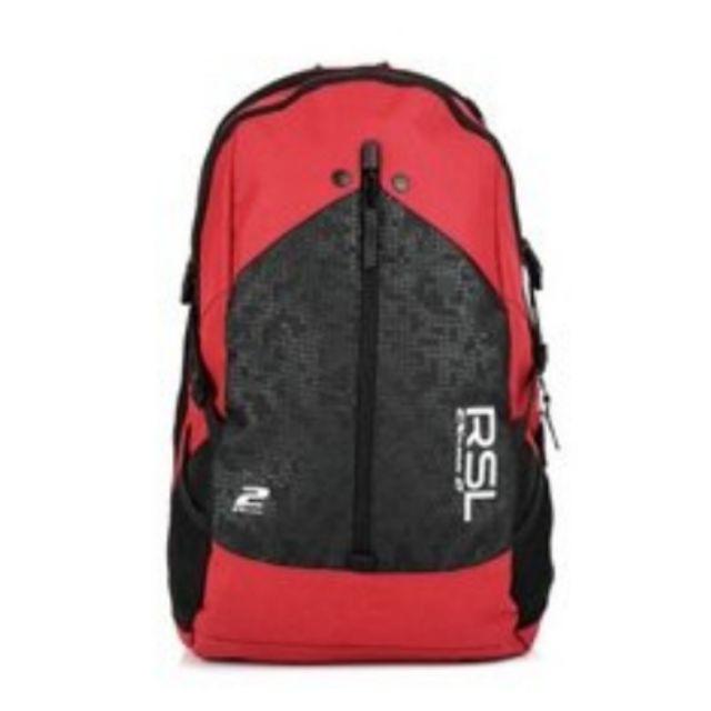 免運 RSL 亞獅龍 探索2.3系列 後背包 紅色 羽球專用後背包 運動背包