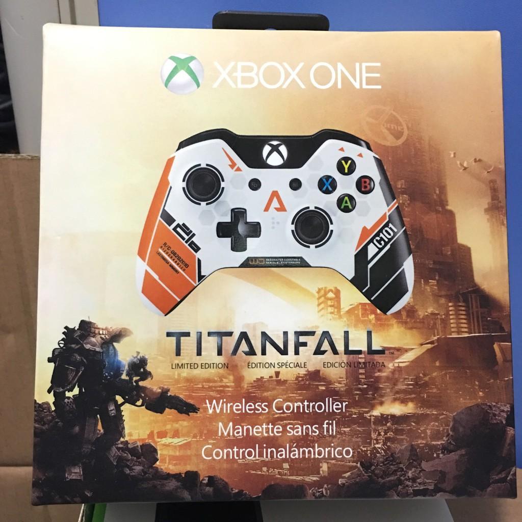 泰坦隕落 Xbox one手把 限量版 無線 有線 電腦游戲手把 XBOXONE 手把 控制器 使命召喚 無藍芽