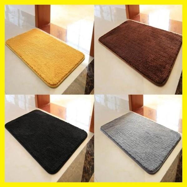 關注領8折劵 金黃色衛生間地墊入戶門腳墊門墊進門門廳衛浴吸水防滑墊臥室地毯