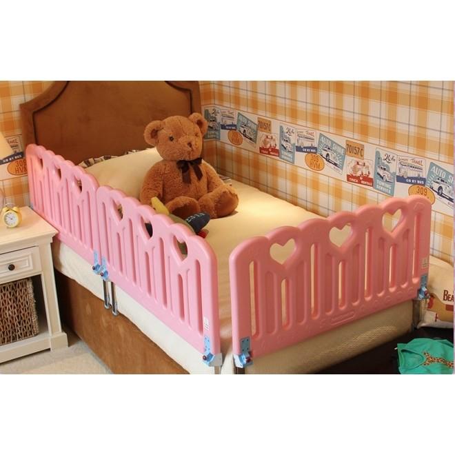 桃心款嬰幼兒防摔安全床護欄圍欄大床擋板圍擋1.8 2米通用-90cm