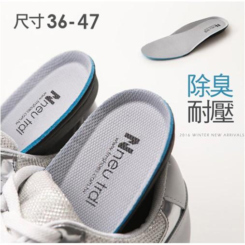 Neu Tral 除臭活性碳內增高鞋墊(1雙入) 【小三美日】D536527
