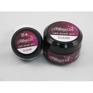 «Bling Nail» LED可卸光療建構凝膠 透明/平滑 20ml /50ml