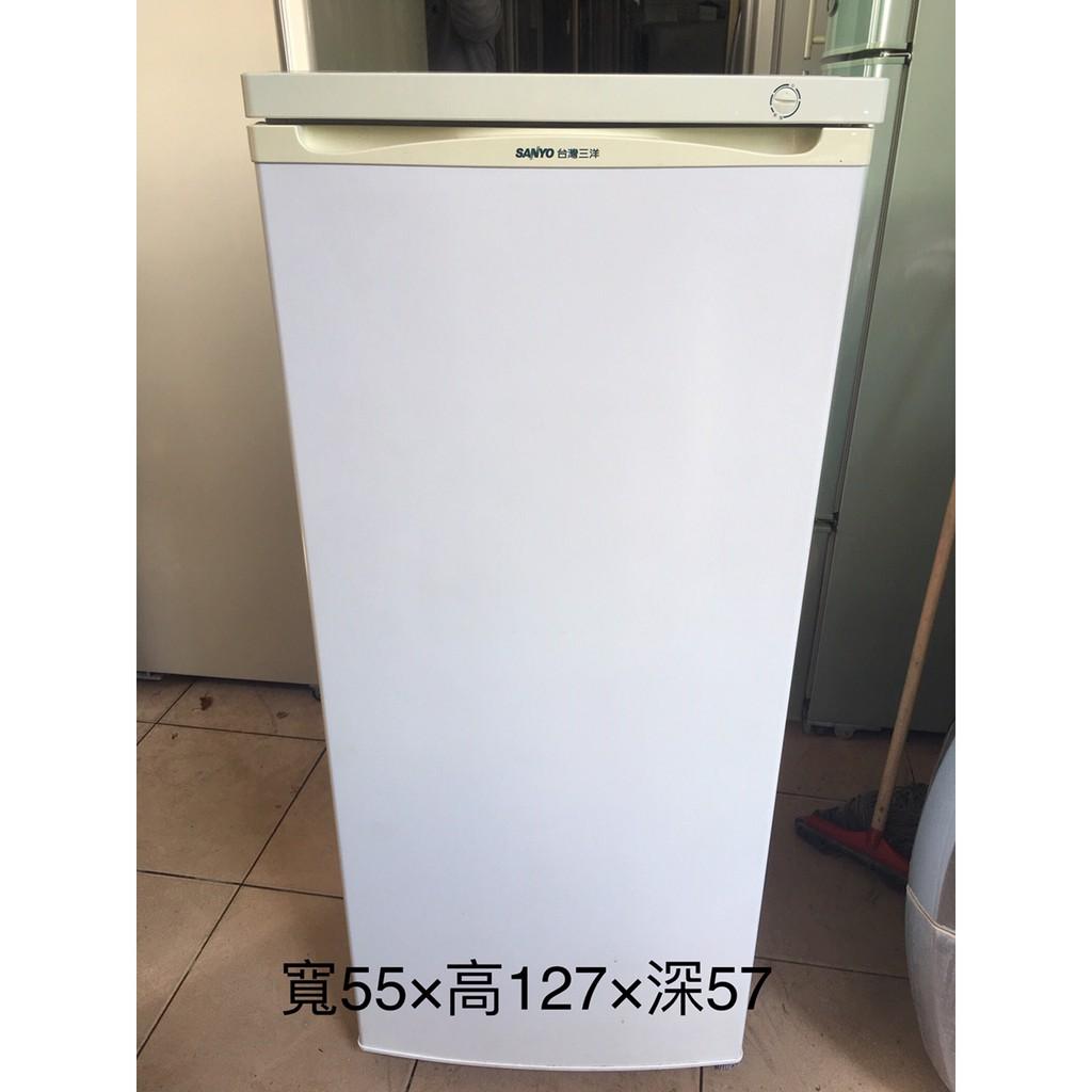 【金文宣電器行】三洋 Sayno 直立式 冷凍櫃 140公升 二手 三重 蘆洲 台北