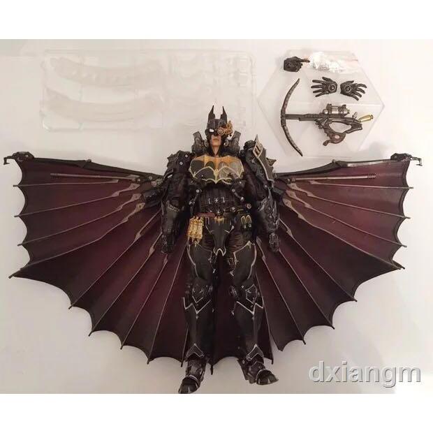 ✖✘Play arts改 pa改 DC漫畫英雄 蒸汽朋克 重裝 蝙蝠俠 BATMAN 散貨