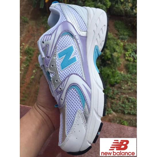 韓國代購 New Balance NB 紐巴倫 MR530系列 運動鞋 休閒鞋 慢跑鞋 網面透氣鞋 女鞋 老爹鞋 白紫色
