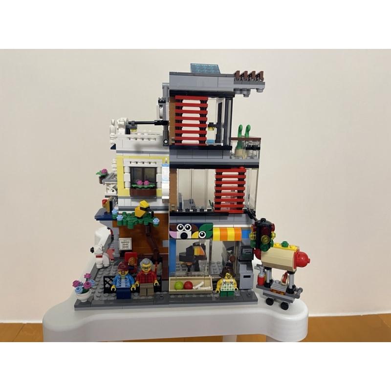 LEGO 樂高31097 CREATOR 3IN1 寵物店和咖啡廳