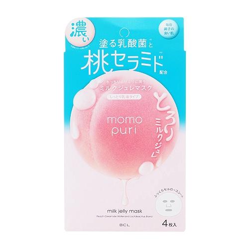 BCL 彈潤蜜桃濃潤面膜(4枚入)【小三美日】D089193