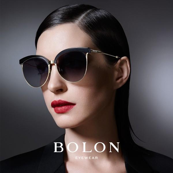 【BOLON 暴龍】經典金屬貓眼眉框太陽眼鏡 明星代言款 BL6001