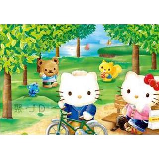 【小瓶子的雜貨小舖】P2拼圖 三麗鷗 Hello Kitty -春之森林 (300pcs) HP0300S-179 新北市