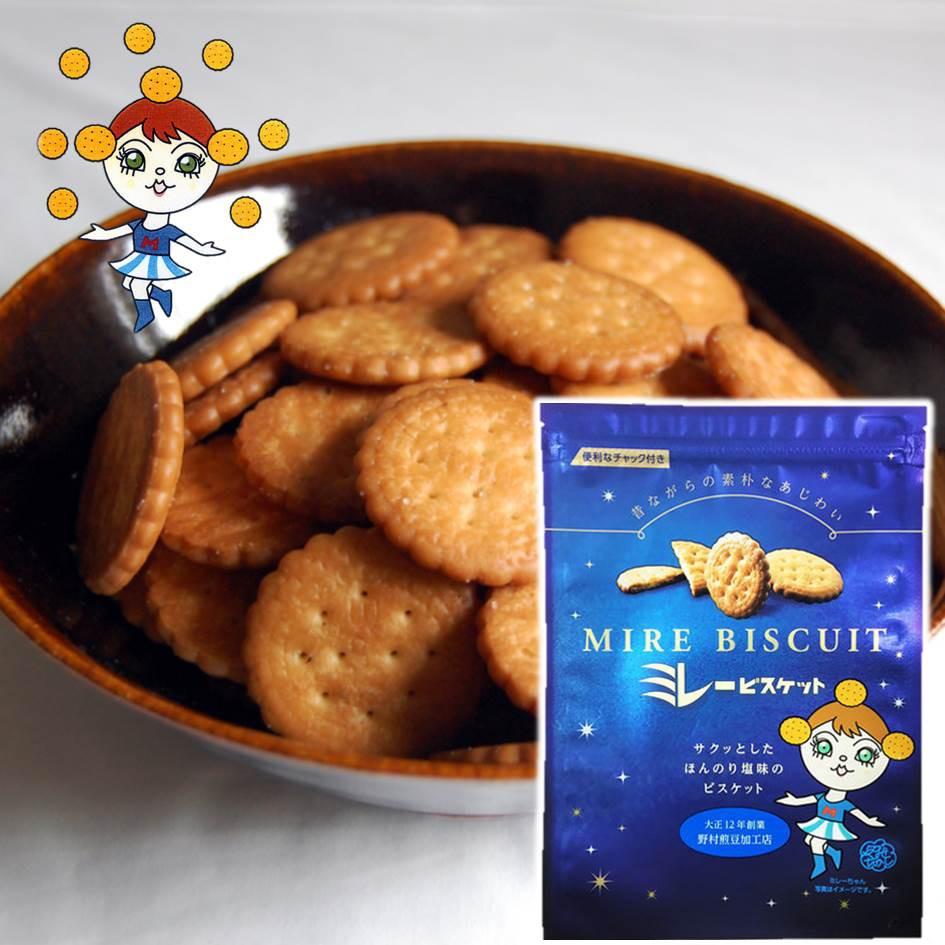【野村煎豆加工店】美樂薄鹽小圓餅 薄脆小餅乾 高知縣特產 145g MDホール 日本進口零食