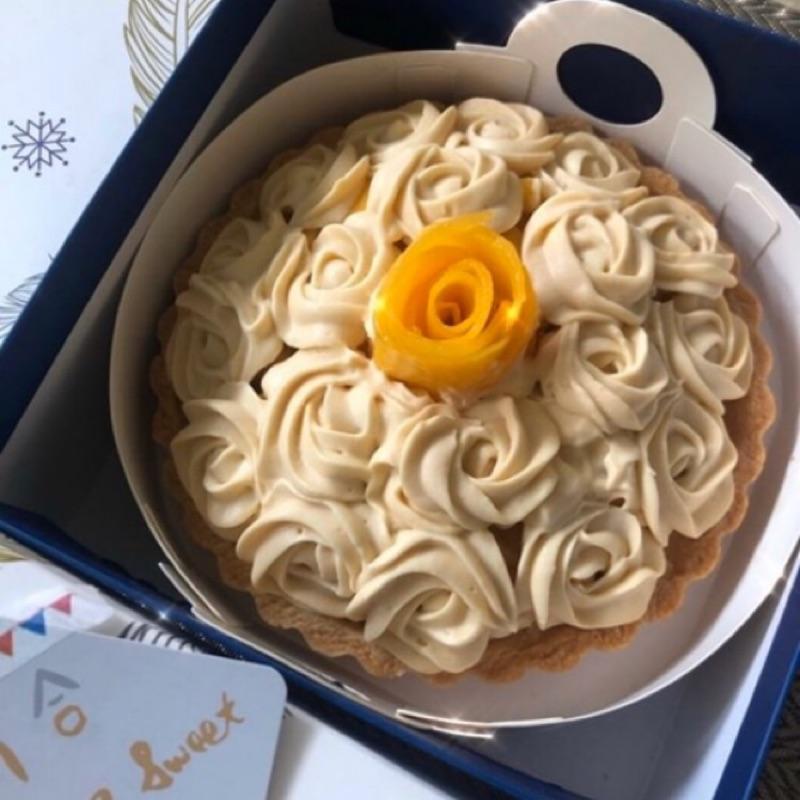 義大利經典甜醬-芒果沙巴雍 6吋