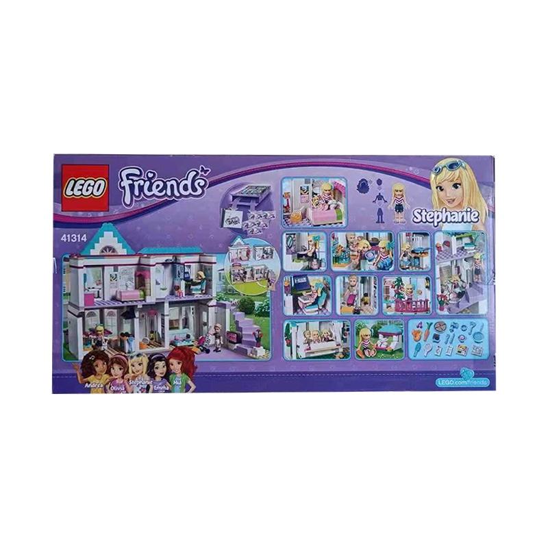 LEGO樂高Friends女孩好朋友系列41314斯蒂芬妮的房子拼插積木玩具