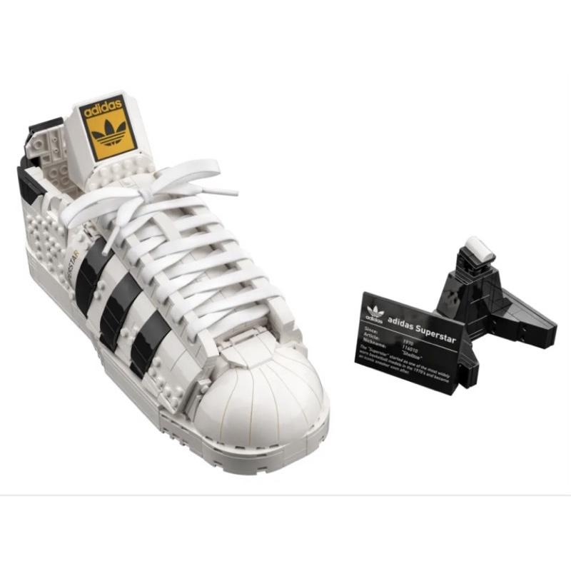LEGO 樂高 10282 愛迪達 adidas Originals Superstar 現貨