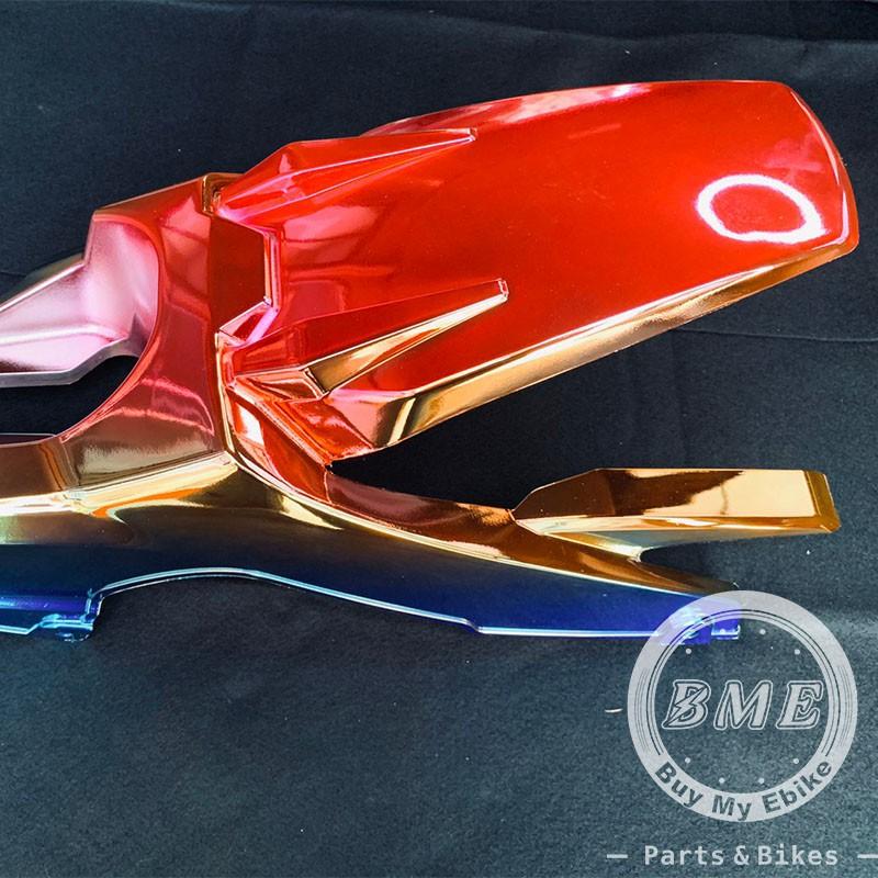 【BME】全新 改裝M3後土除 (彩鈦) Ebike, 電動車, 戰狼, INSKEY Rear Fender