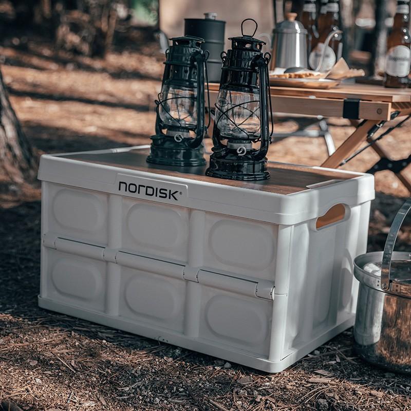 折疊箱露營 Nordisk大白熊 戶外 露營 車用 後備箱 儲物箱 折疊 收納箱 整理箱 野營箱