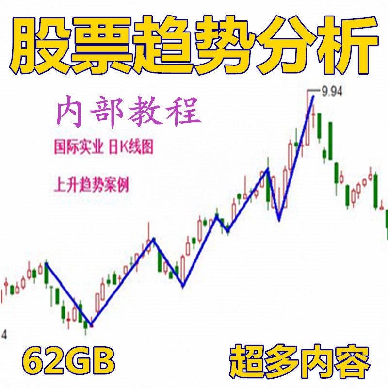 亞洲最強! 股票趨勢分析技術62G視頻教程股市技術短線漲停知識合集 強力推薦!