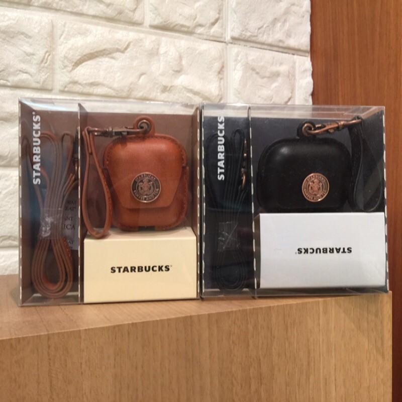 星巴克 銅章女神airpods耳機套 黑色專屬pro 咖啡適用airpods第一 二代 AirPods 耳機套