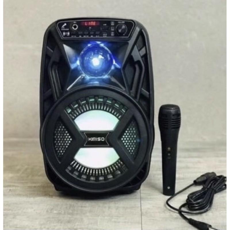 KIMISO無線重低音藍芽喇叭(卡拉OK) 型號:QS-3603 PMPO喇叭:1000W