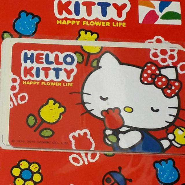 Hello kitty悠遊卡-KITTY 花園