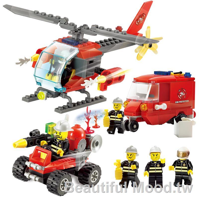 ❈◑✘樂高城市系列全套警察局警系局房子別墅積木男孩子拼裝益智力玩具