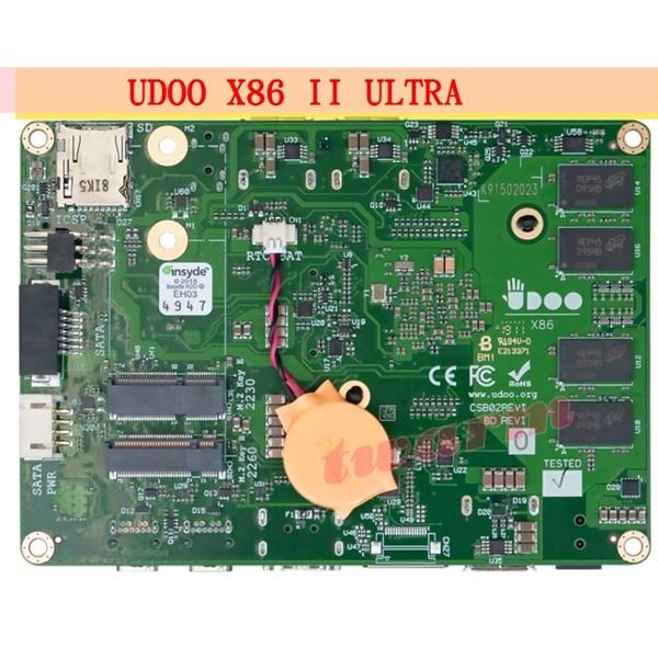 TW17484 / 2019新品 UDOO X86 II ULTRA 版(2代) / 四核電腦 / 樹莓派的10倍