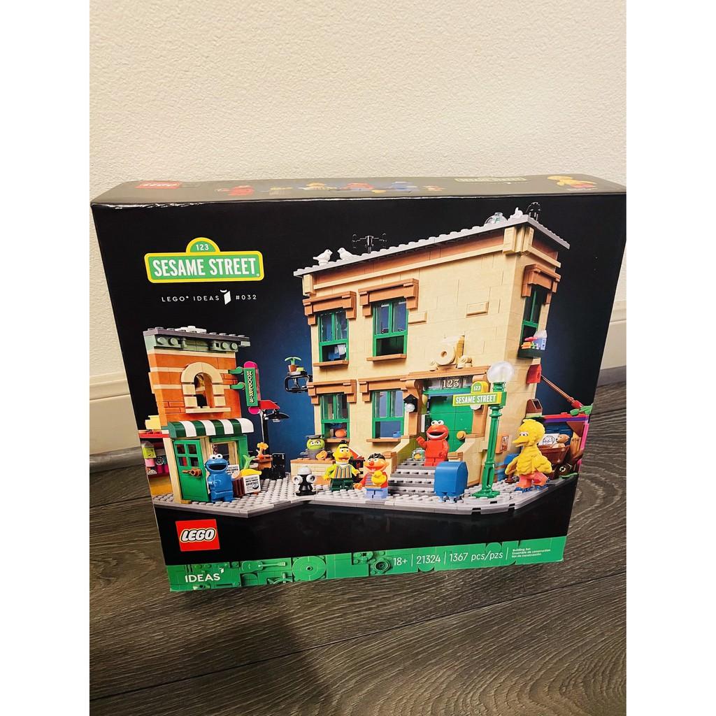 LEGO 21324 123 Sesame Street 樂高 芝麻街