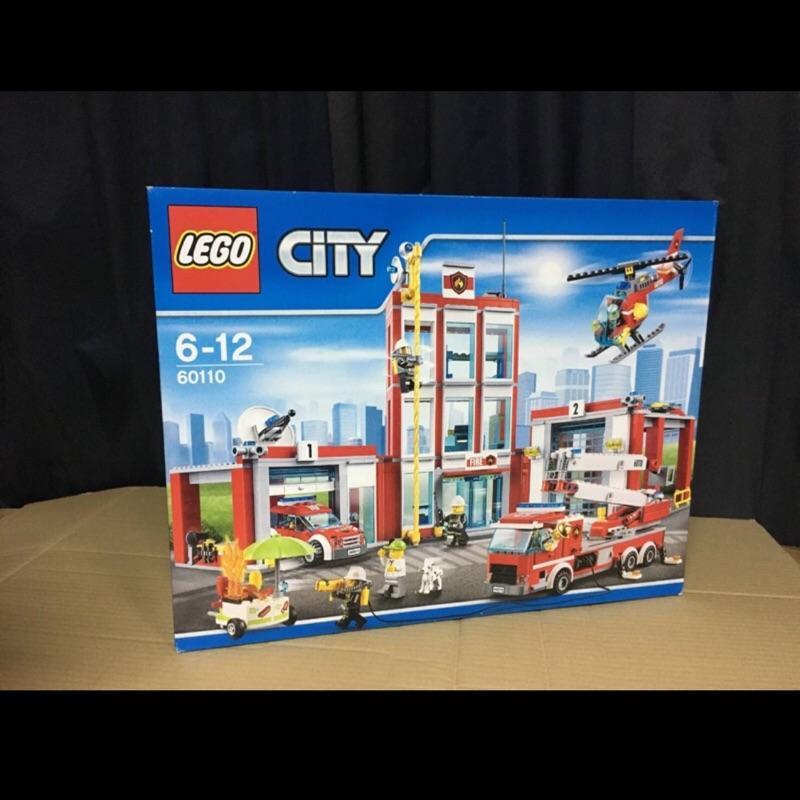 現貨 LEGO 樂高 60110 城市系列-消防局 Fire Station