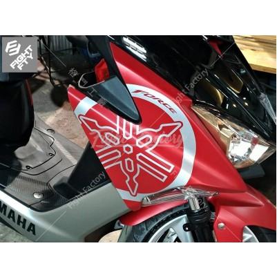 【格鬥工廠】S4099A YAMAHA FORCE H殼 大音叉 勁戰 BWS TMAX SMAX 防水 貼紙