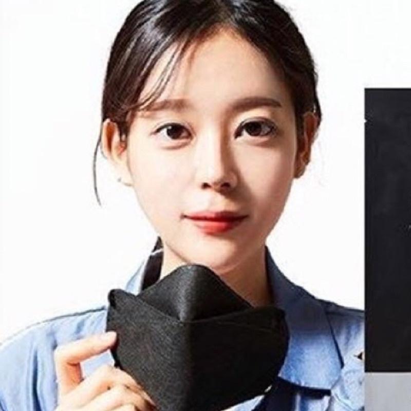 現貨 只有黑色 正韓 kf94 口罩 魚形口罩 非醫療口罩 防塵 防疫