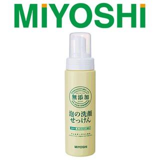即期出清【日本 MIYOSHI 無添加】泡沫洗面乳200ml,有效日期至2021.7.9 台北市