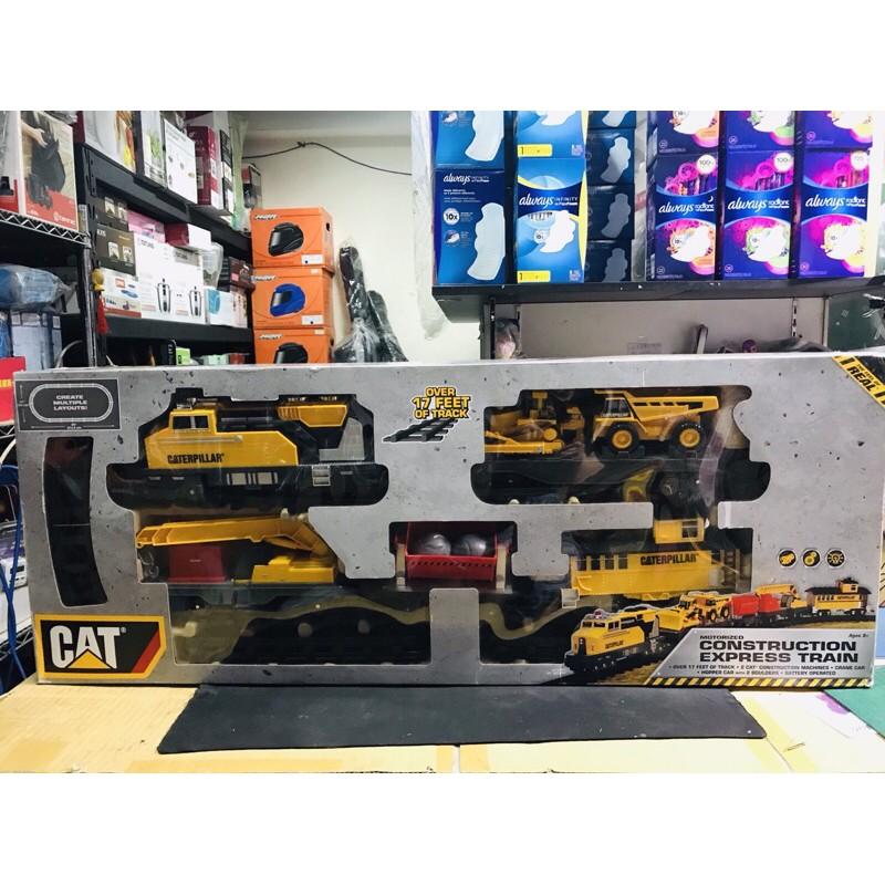 好市多 CAT 工程列車組火車 工程車 火車 玩具