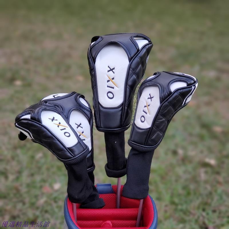 【優選精品】XXIO高爾夫木桿套 桿頭套 帽套球桿保護套 XX10球頭套高爾夫球桿