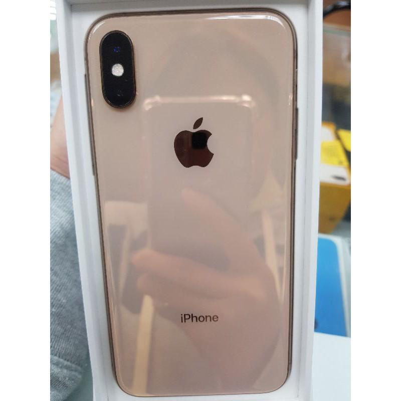 Apple IPHONE XS 256G 中古機 金色