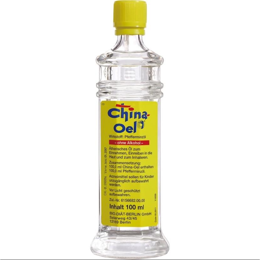 德國 原裝進口 百靈油  China Oel 100ML (含3入吸入器)(含運)